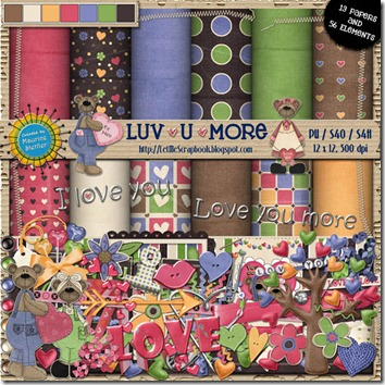 Preview for LuvUMore - Let Me Scrapbook