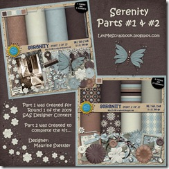 Preview for Serenity - Let Me Scrapbook
