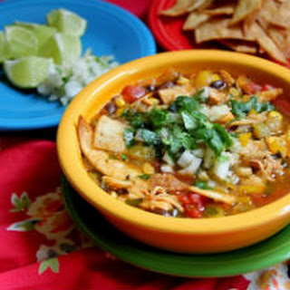 Mexican Chicken Black Bean Tortilla Soup Recipes