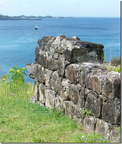 Fort Morro overlooking the bay