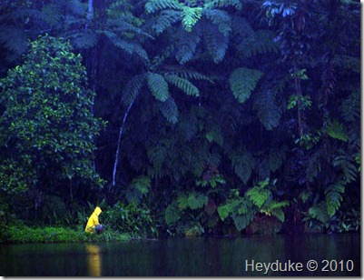 lone fijian fisherman