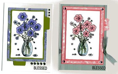 Flowervase Cards001