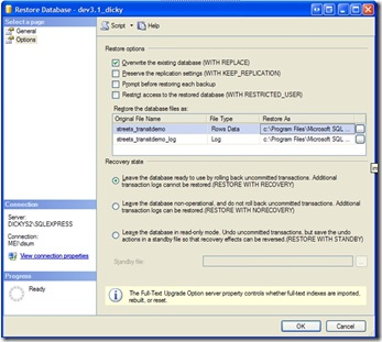 SQL Management Screenshoot3.1