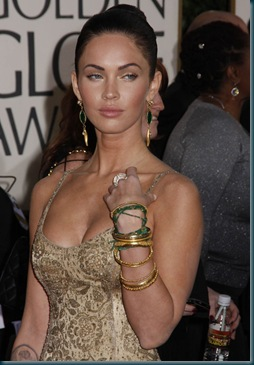 the cleves of Megan Fox 4 hollywood stars photos