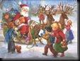 Santa 6 unique desktop wallpapers
