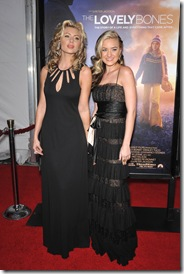 AJ & Aly Michalka The Lovely Bones  Premiere