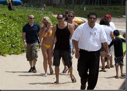 Britney Spears Bikini Candids in Hawaii