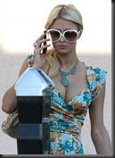 Paris Hilton Cleavage Candids in Los Angeles 5