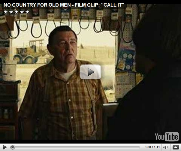 no country for old men synopsis No country for old men is a mesmerizing new thriller from academy award winning filmmakers joel coen & ethan coen, based on the acclaimed novel by pulitzer prize winning american master cormac mccarthy.