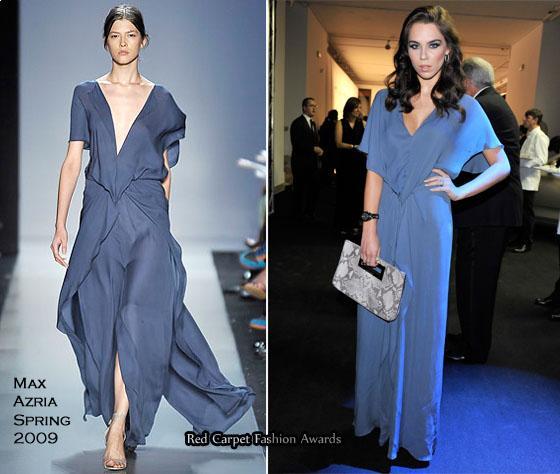 Max Azria Spring 2009 dress