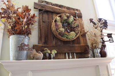 fall mantle, fall mantel