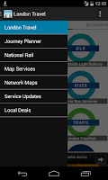 Screenshot of London Travel