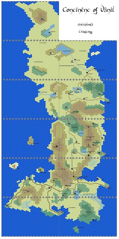 Continent of Vanil