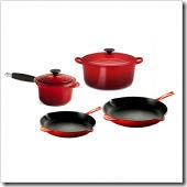 6-Piece Expanded Cookware Set in Cherry