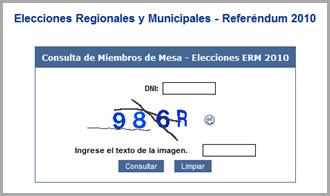 Elecciones Municipales y Regionales 2010