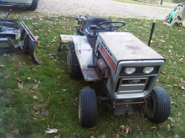 Roper Lawn Tractors And Garden : Mower drive on sears gt varidrive mytractorforum