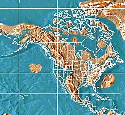 Us Navy Madrid Map - Us navy map after pole shift