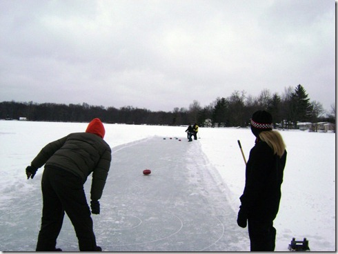 Kalamazoo outdoor curling 1
