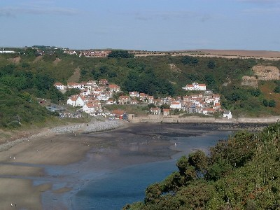 Self Catering Holiday Cottage for Rent.         Runswick Bay, North Yorkshire