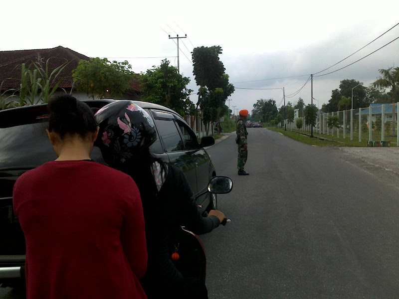 Indonesian Special Force military base