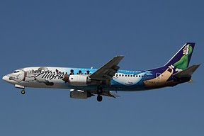 Boeing 737 Alaska Airlines (Were all pulling together)