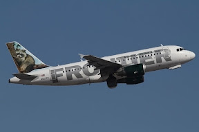 Airbus 319 Frontier Airlines
