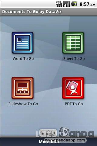 Aplikasi Android, Office untuk Android, Document to Go v3.001.836