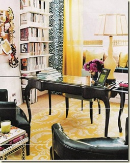 Jessica Clair yellow office