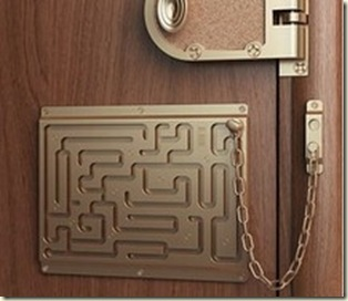 funny door lock
