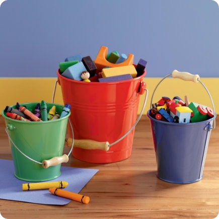 bucket nod crayons