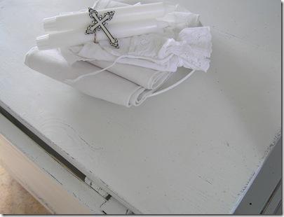 Slagbord 2 lådor närbild slitage skiva