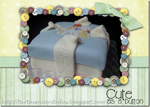 Collage de tarta baby
