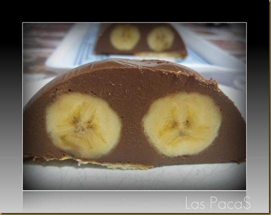 pastel de chocolate y plátano (18)