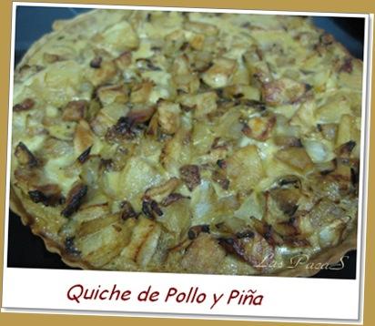 Quiche de piña y pollo (1)