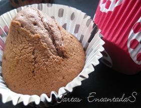 magdalena de chocolate y turrón (2)