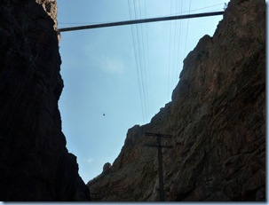 Royal Gorge Aerial Tram View from Bottom