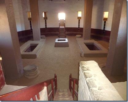New Mexico Aztec National Monument Great Kiva