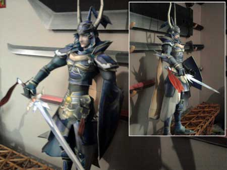 Warrior of Light Papercraft