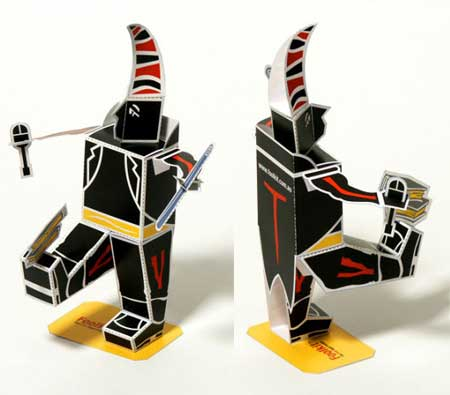 Foolkit Paper Toy