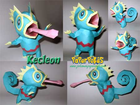 Kecleon Papercraft