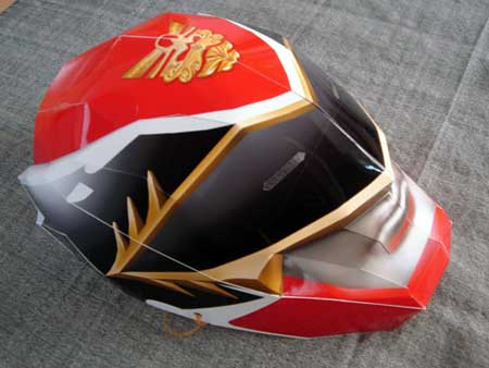 Tensou Sentai Goseiger Papercraft Mask