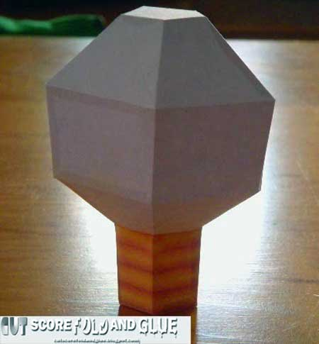 Mario Party Light Bulb Papercraft