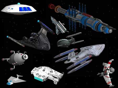 Not 1 but 2 not-so-new sites full of Sci-fi spaceship papercrafts for ...