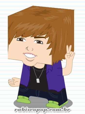 Justin Bieber Papercraft