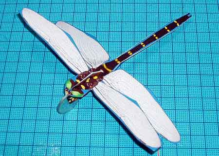 Dragonfly Papercraft