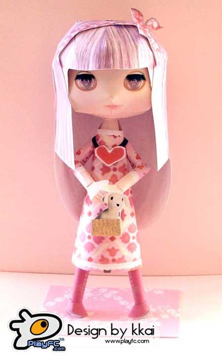 Blythe Doll Papercraft