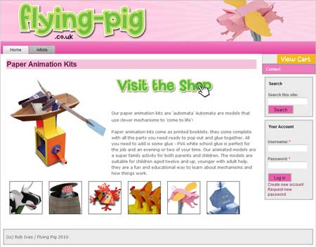 The New Flying-Pig by Rob Ives