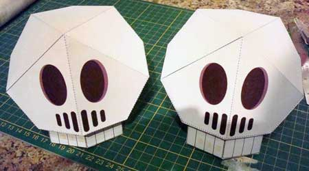 Hex the Skull Papercraft