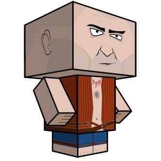 The Witcher 2 Prisoner Papercraft