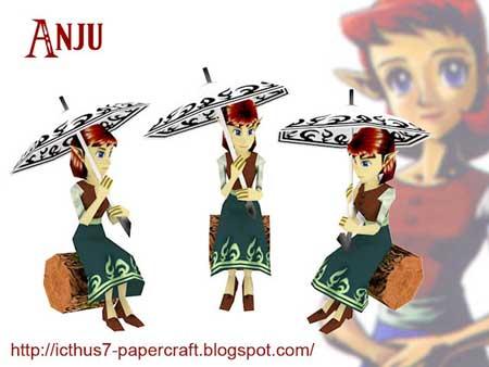 Anju Papercraft